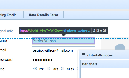 form is different sizes in chrome vs firefox - Form - DHTMLX