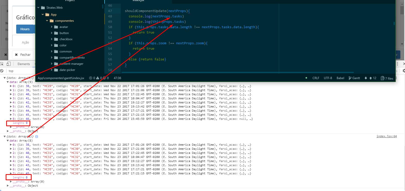Gantt not re-rendering after update - Gantt - DHTMLX